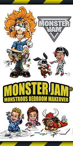 Monster Jam $10,000 Bedroom Makeover