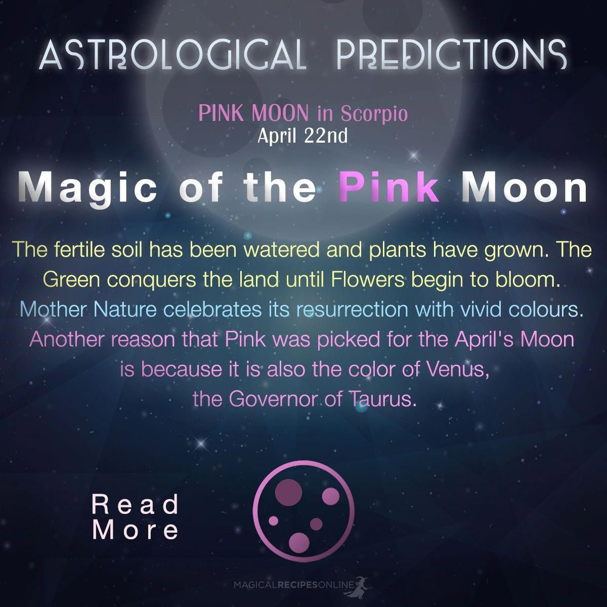 Adaptable Redesigned Awesome Magic Tricks Visit Your Url Pink Moon Pink Moon Meaning Moon Meaning