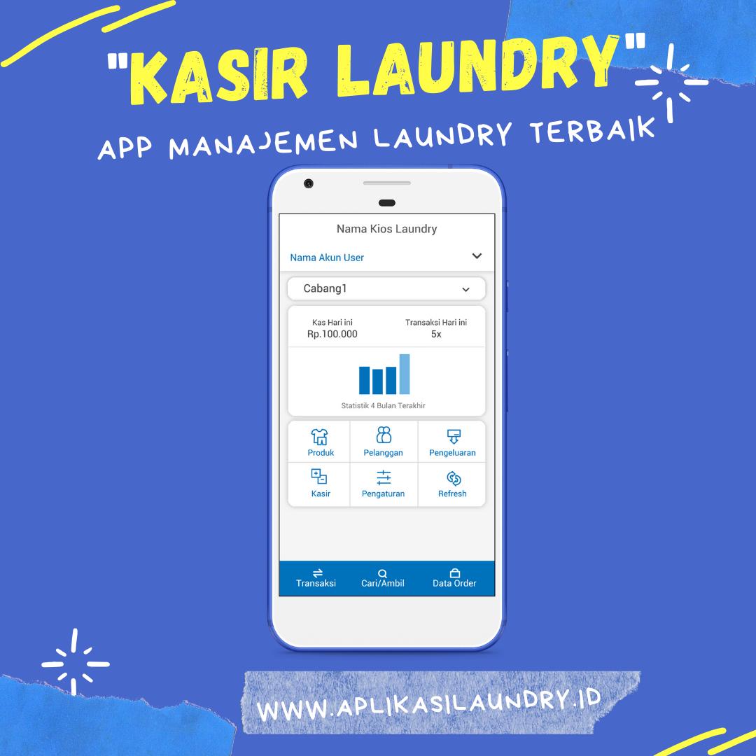 Software Laundry Keuangan Aplikasi Laporan Keuangan