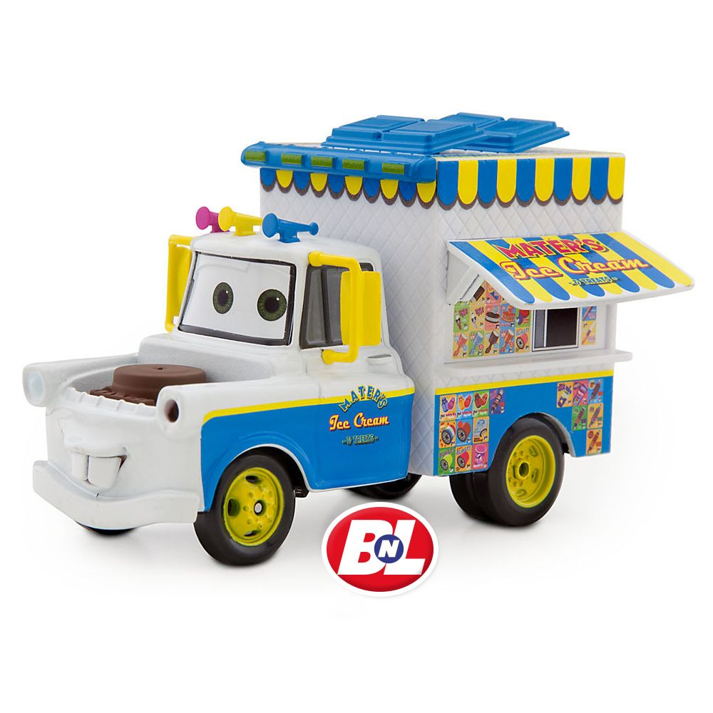 Cars 2 Ice Cream Truck Mater Die Cast Car Chase Edition Ice Cream Truck Disney Cars Disney Character Toys
