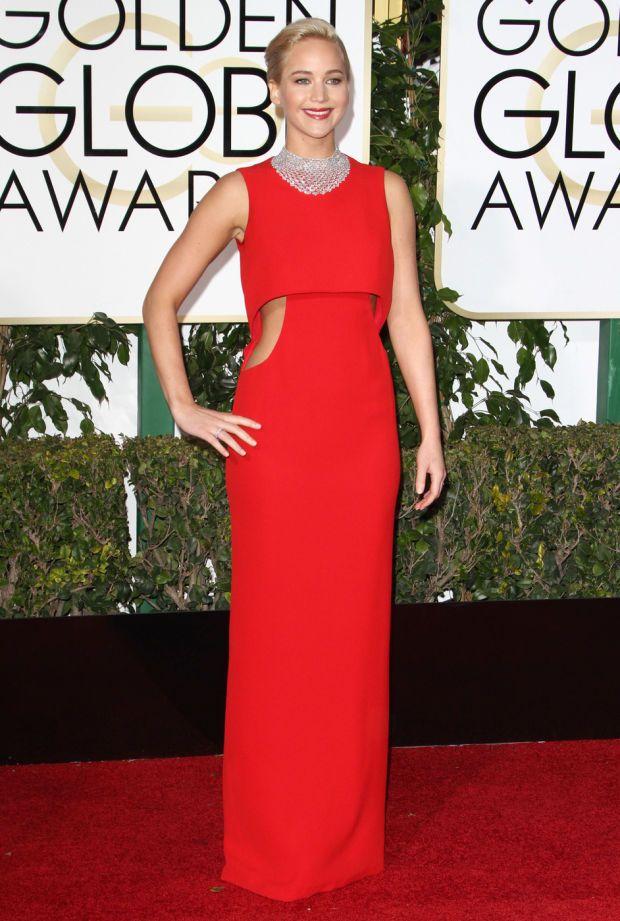 Fashion recap: golden globes red
