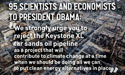 The Keystone XL tar sands pipeline would have a substantial negative impact on