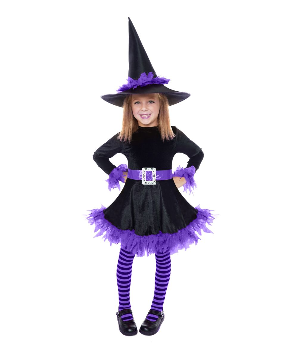purple shredded witch child costume we are going to do this with horns for maleficent - Witch Pictures For Kids