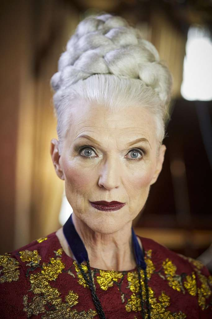 This 69-Year-Old Model Is The Newest CoverGirl - YouTube