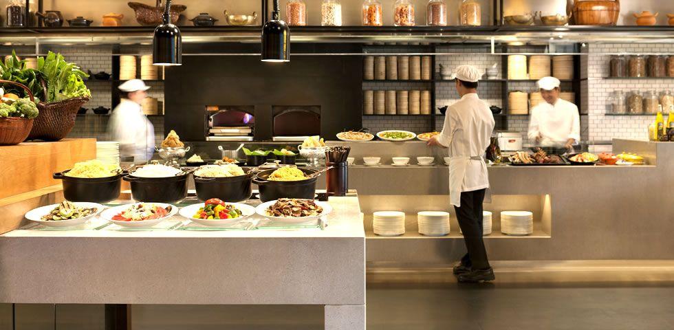The Market, Hotel ICON, Hong Kong   Buffet counter   Pinterest ...