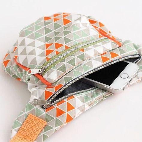 kostenloses freebook zum n hen einer hipbag g rteltasche. Black Bedroom Furniture Sets. Home Design Ideas