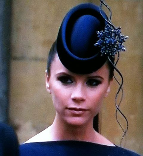 Victoria Beckham Simplistic Style At The Royal Wedding