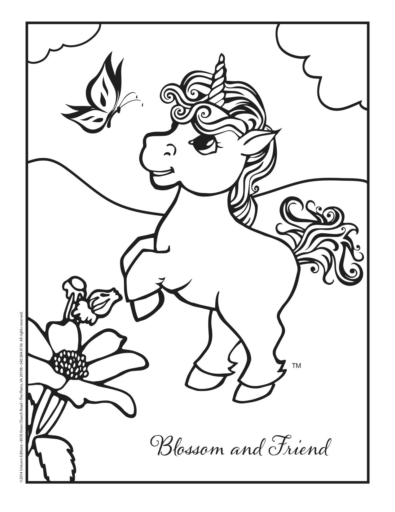 Blossom Loves To Play With Her Butterfly Friend Color The Butterfly With Bright Colors And The Pretty Baby Coloring Pages Coloring Pages Colorful Butterflies