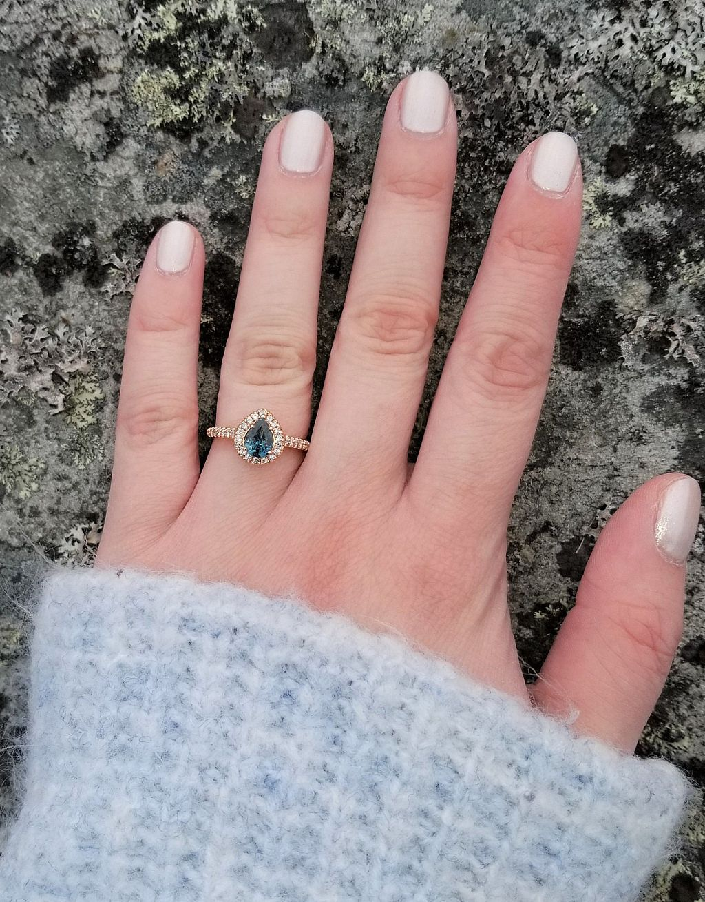 Pin by Pristine Gemstone Jewelry | Unique Engagement & Sapphire ...