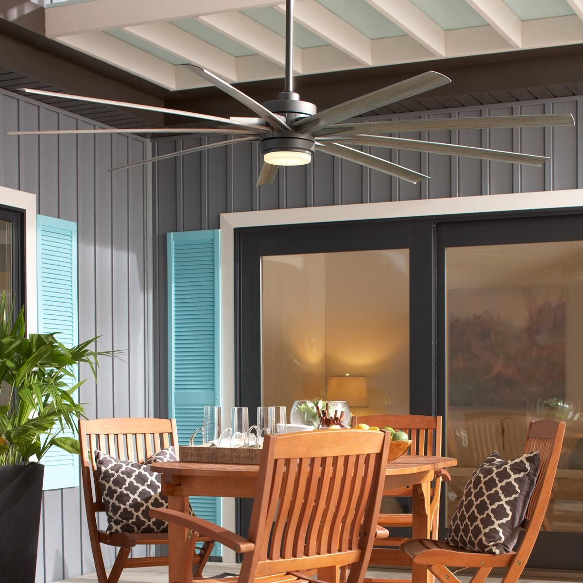 84 Indoor Outdoor Supersized Modern Ceiling Fan Outdoor Ceiling Fans Outdoor Fan Best Outdoor Ceiling Fans