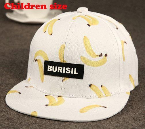 944736806e7b6 Cool 2016 New Fruit pattern Adult   Kids Fashion Caps Children Baseball Caps  For Boys Girls Sun Hip Hop Snapback Caps Summer Hat
