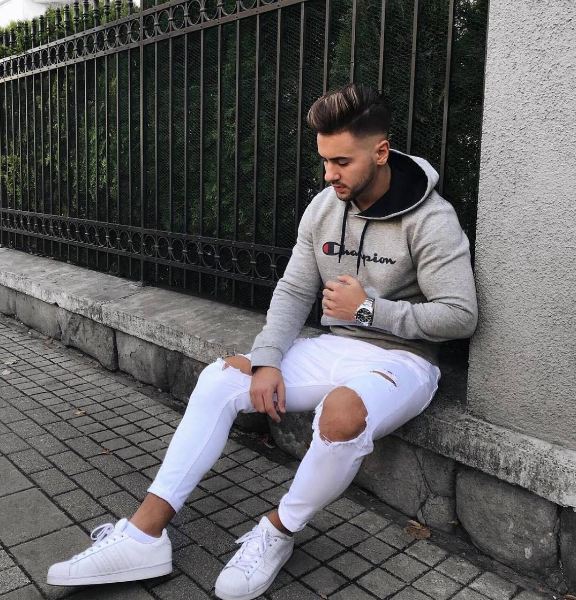 16 Urbano estilo casual hombre