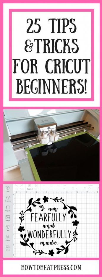 25 Tips & Tricks For Cricut Explore Air 2 & Cricut Maker Beginners #cricutvinylprojects