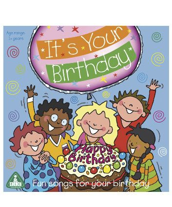 ELC It's Your Birthday CD. For a special birthday boy or girl, this CD features a great collection of fun songs from pop favourites to party songs, all brought together to help create a fun birthday.