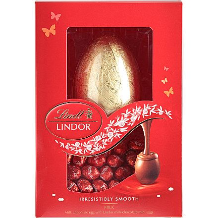 Lindt Lindor Milk Chocolate Easter Egg And Mini Eggs Lindt