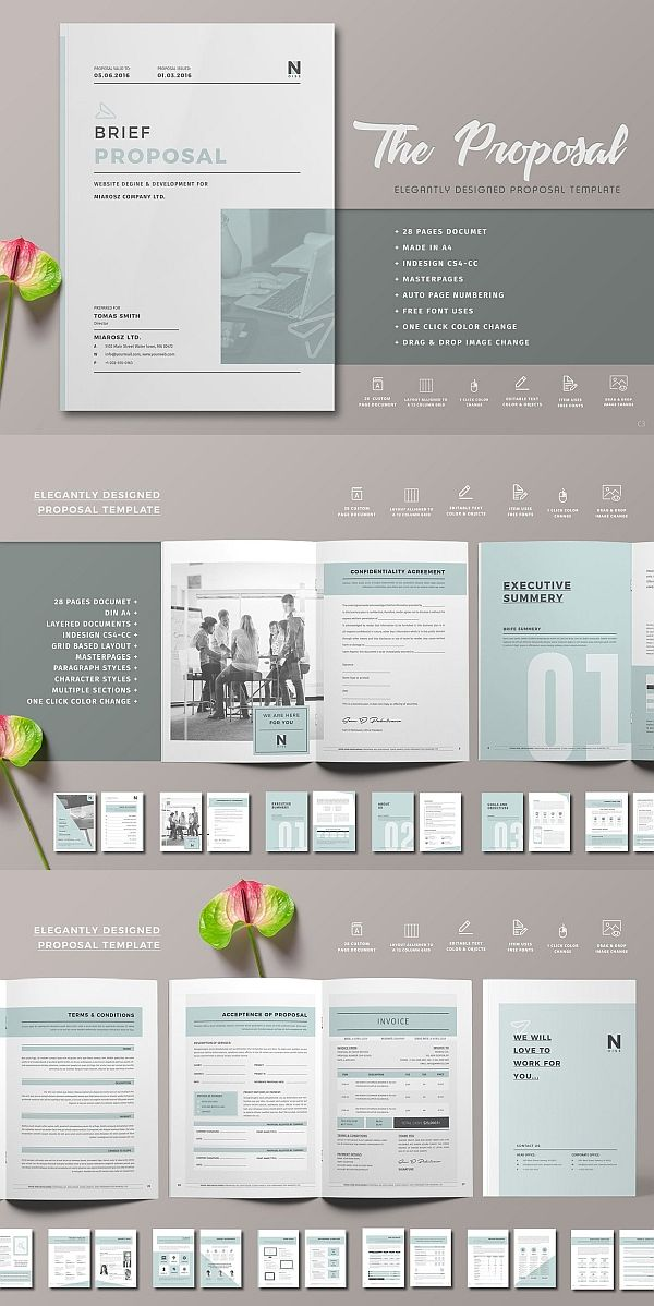Proposal Pinterest Business Proposal Template Business Proposal