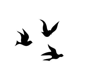 Three Birds Tattoo Bird Tattoos Clipart Best Clipart Best Three Birds Tattoo Little Bird Tattoos Three Little Birds