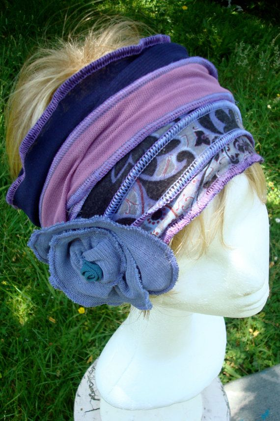 Womens Adult Headband Head Wrap Chemo HAt by GypsyLoveHeadbands ...
