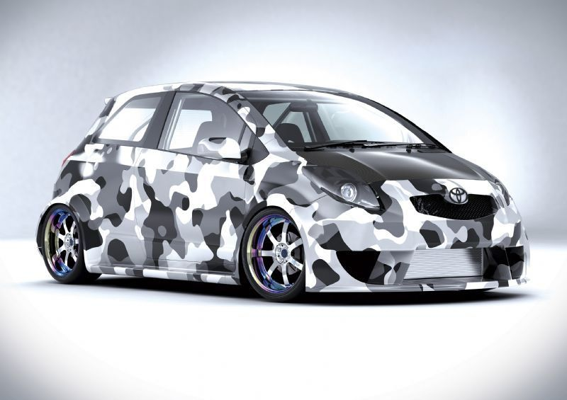 Toyota Yaris Custom Wide Body Toyota Vehicles Car Wrap