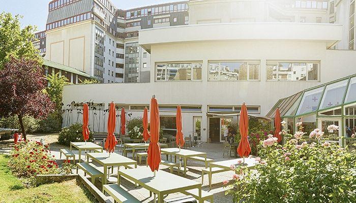 Résidence Internationale de Séjour (FIAP) - Terrasse er jardin