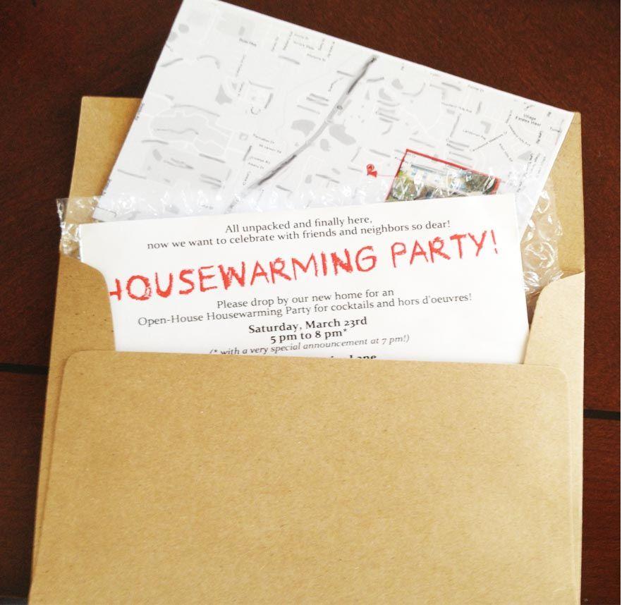 Housewarming Party Housewarming party