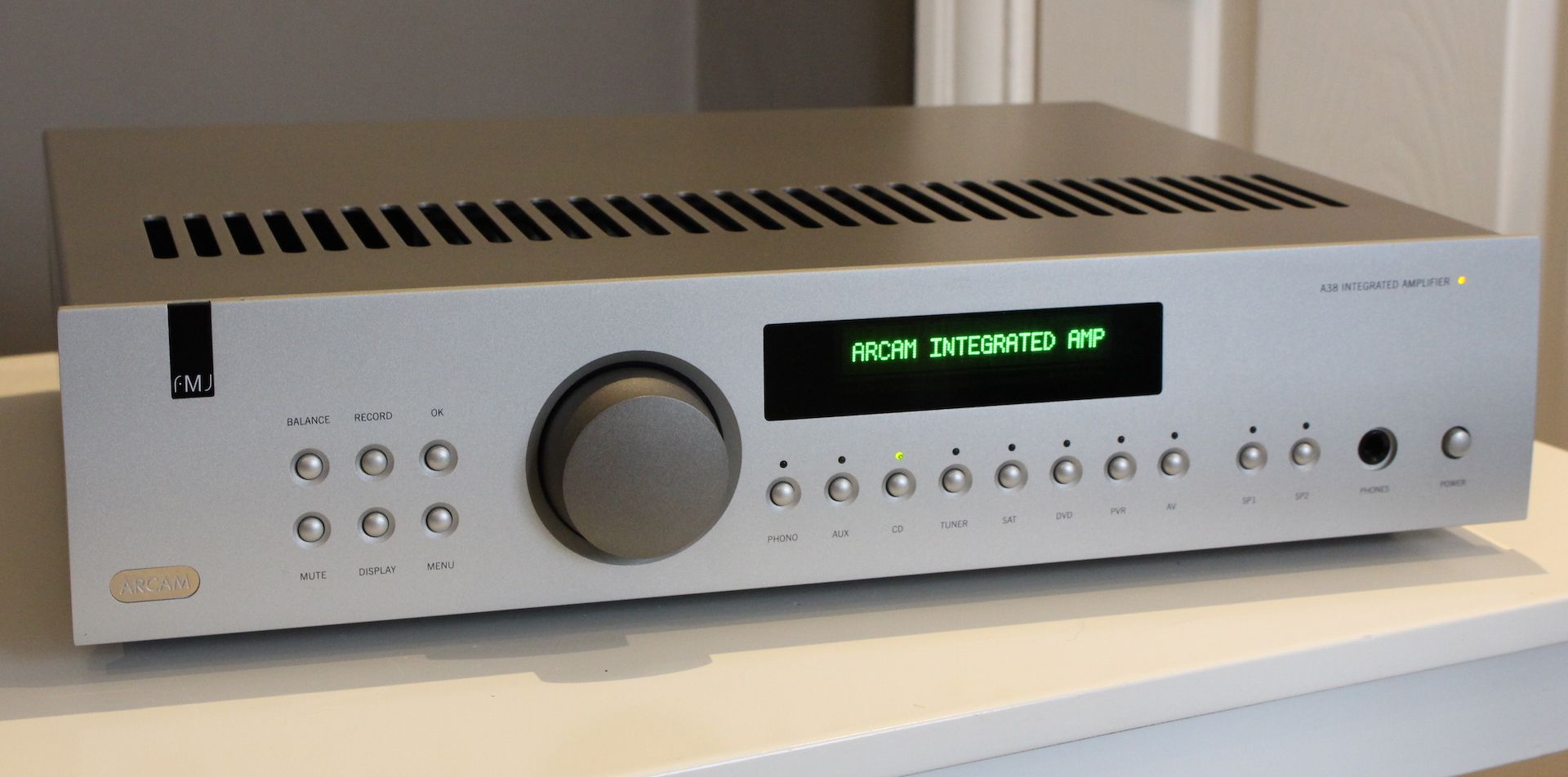 Arcam FMJ A38 Integrated Amplifier | High End Audio | High