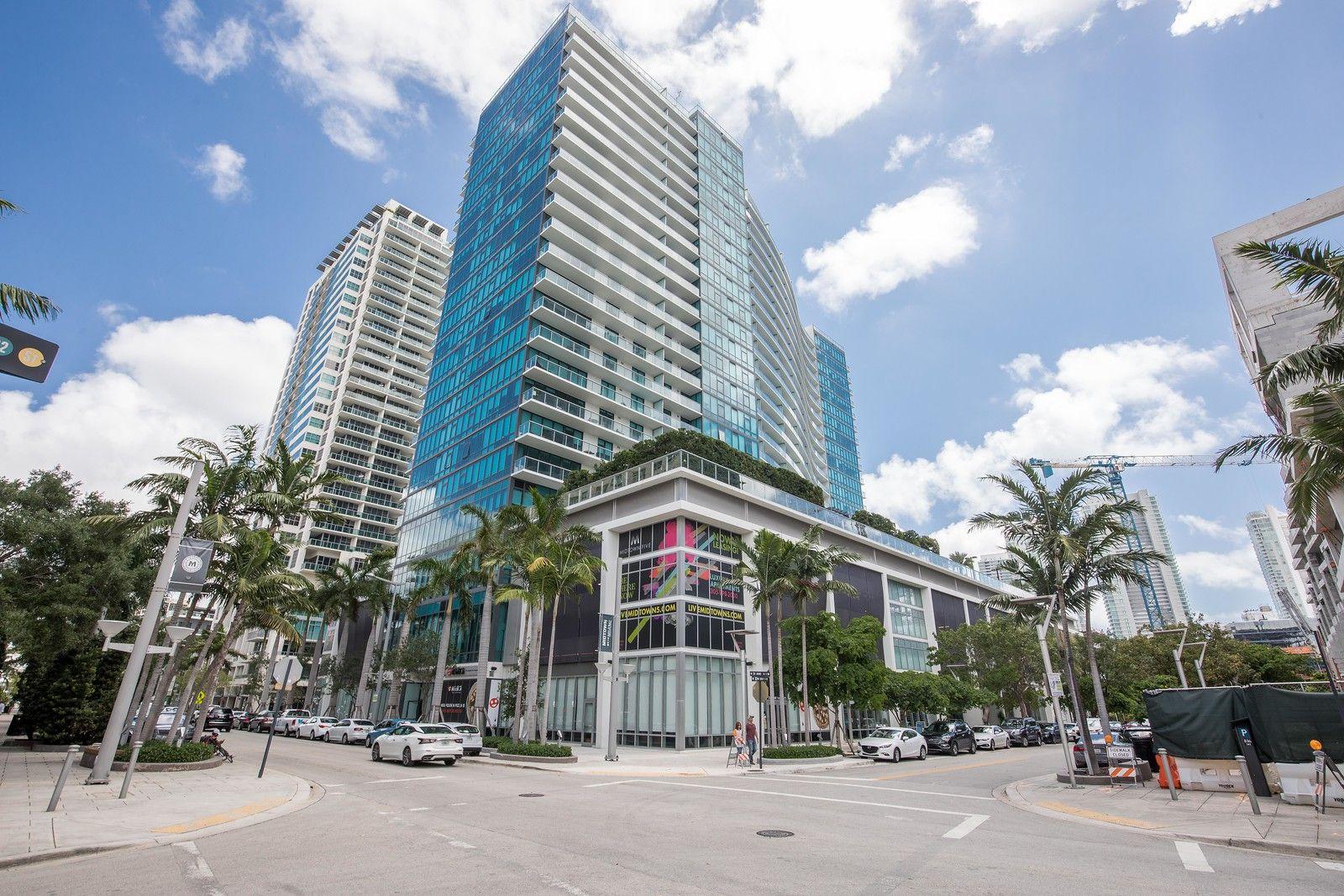 Miami Midtown 5 Tower Natural Ventilation Building Facade Aluminum Extrusion
