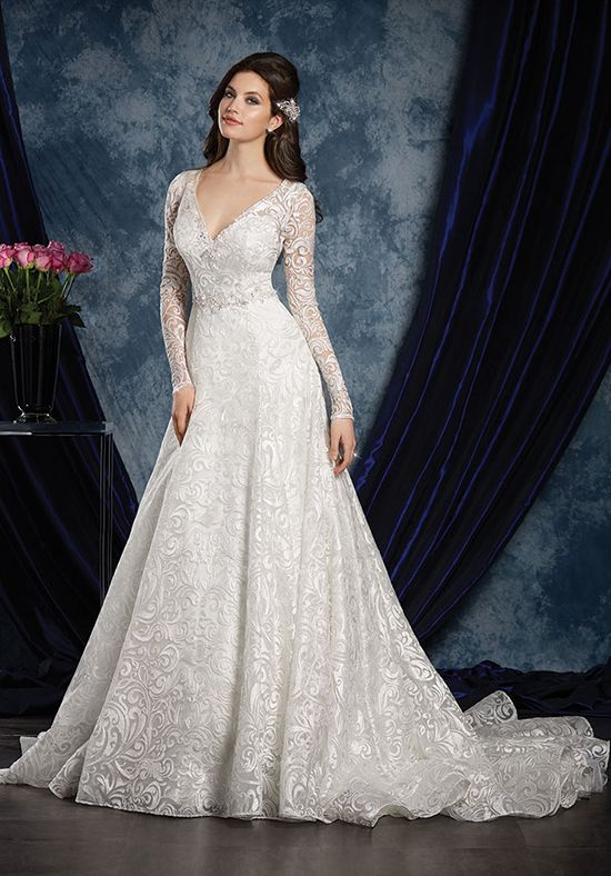 Alfred Angelo Sapphire Bridal Collection 970 A Line Wedding Dress