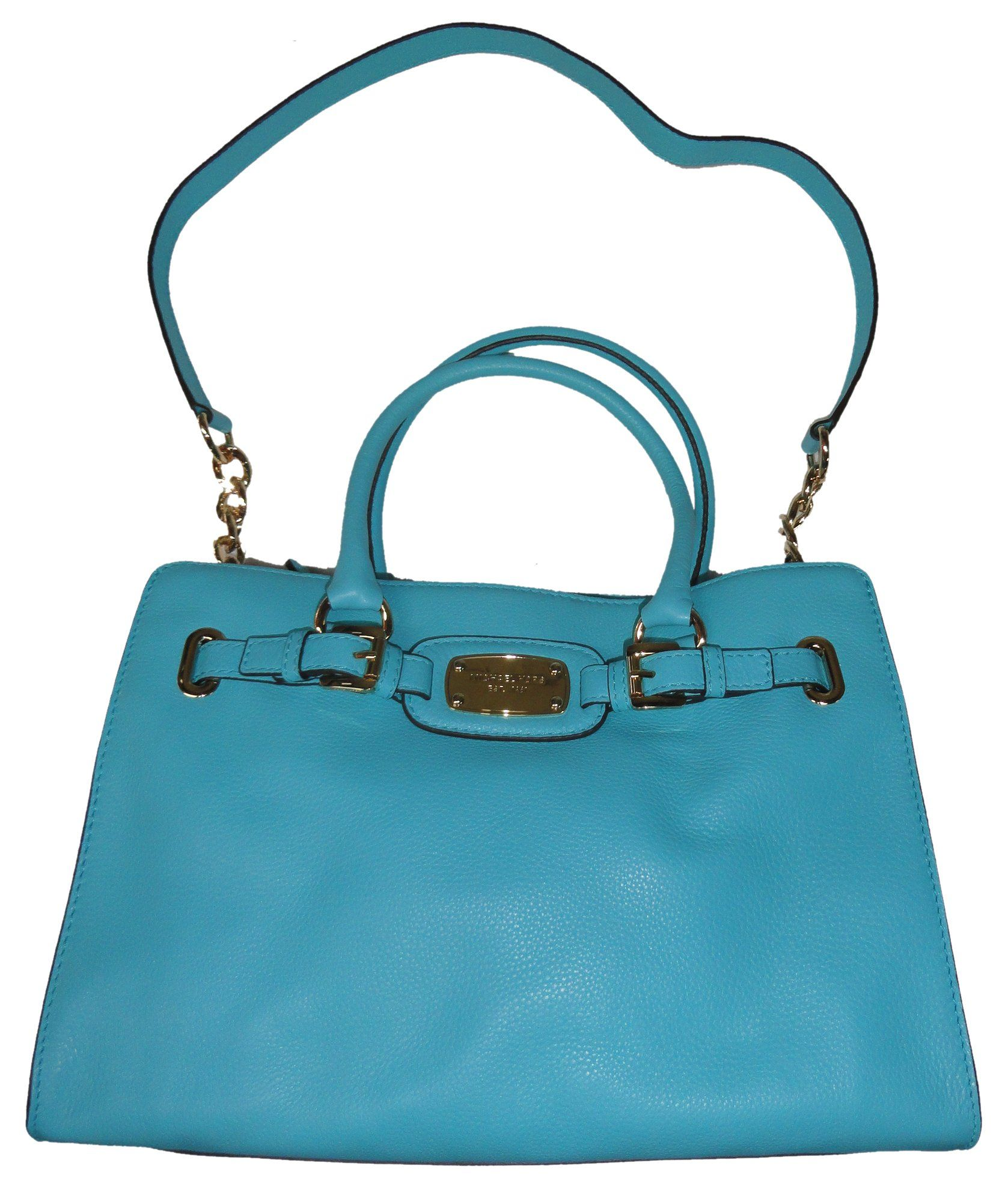 3303b808fceb MICHAEL MICHAEL KORS HAMILTON AQUAMARINE SAFFIANO LEATHER EAST WEST SATCHEL  BAG >>> Details can be found by clicking on the image.