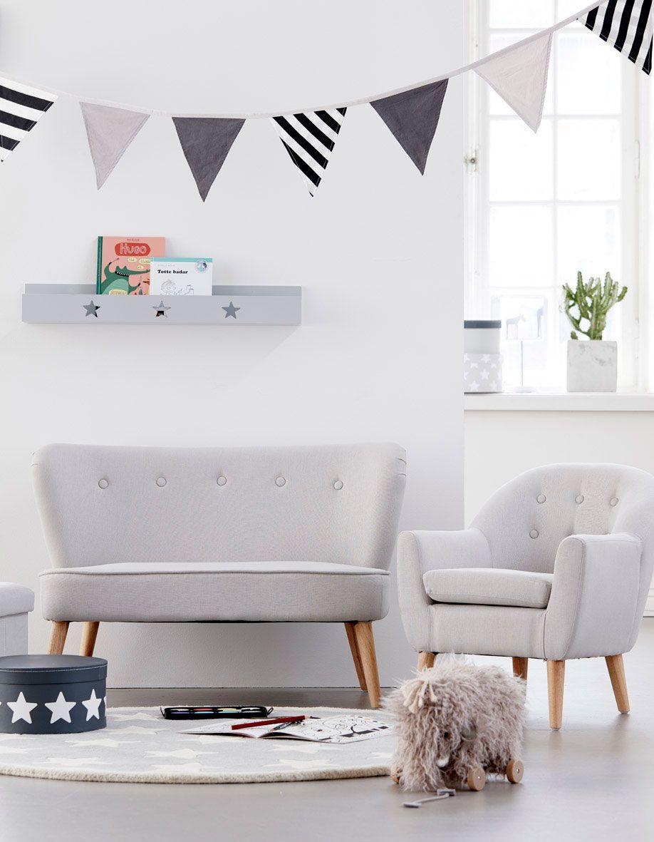 einfach mal relaxen dieses moderne kindersofa von kid s concept mit seinem stylischen und. Black Bedroom Furniture Sets. Home Design Ideas