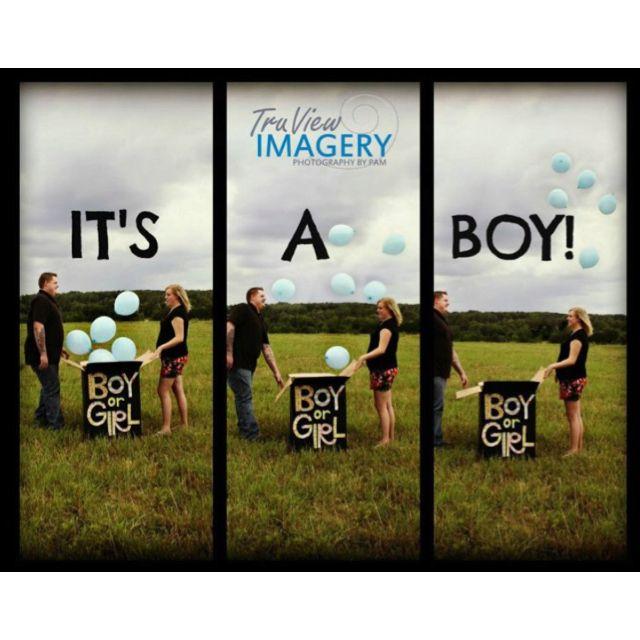 My best friend!!! Gender revealing photo shoot!!