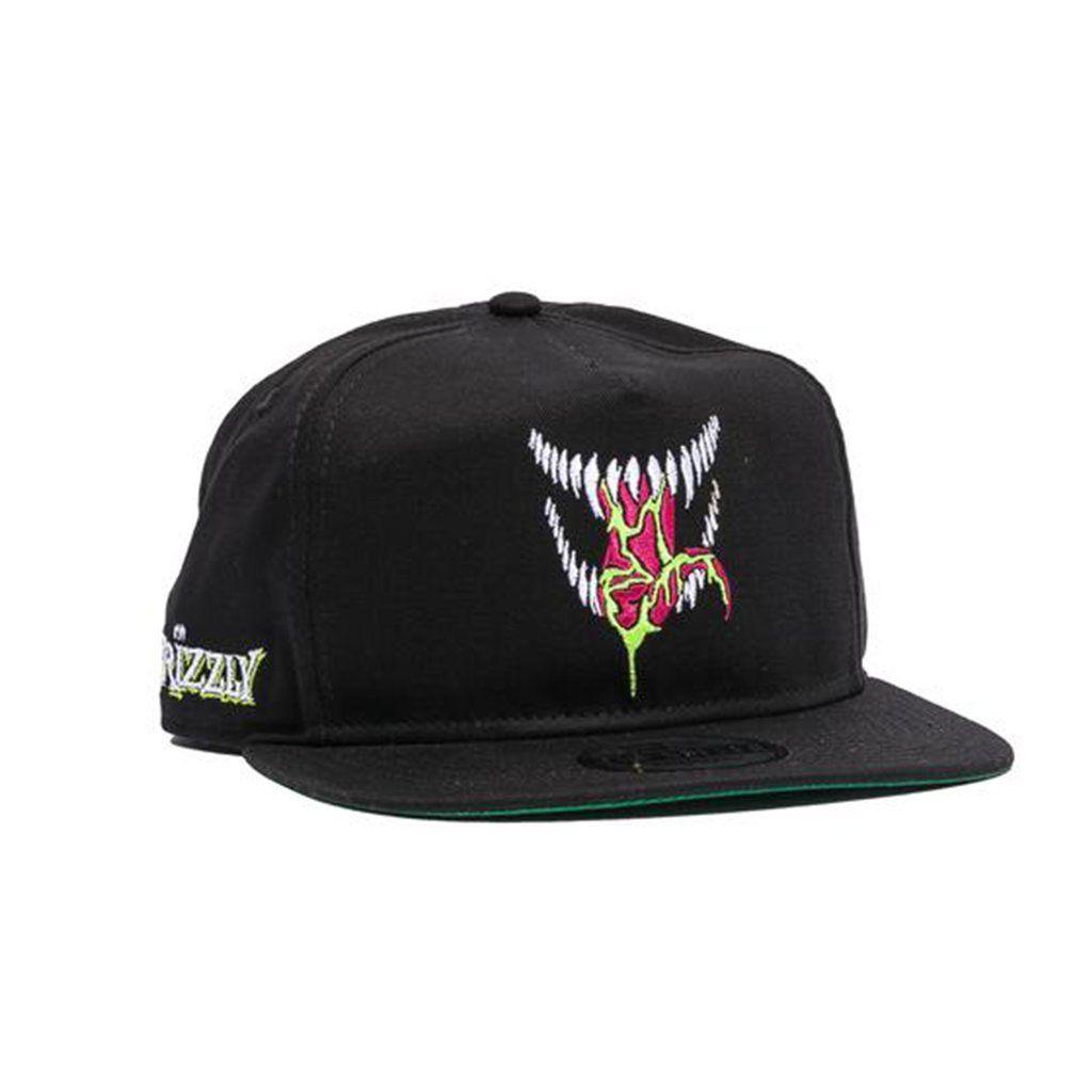Grizzly X Venom Grin Snapback  d6175c893b1