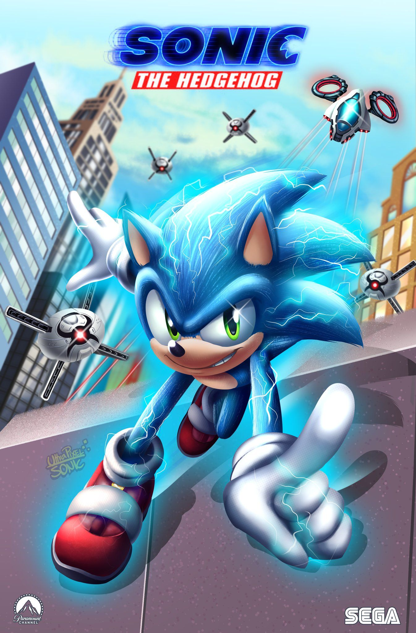 Ultrapixelsonic Commissions Closed On In 2020 Sonic Sonic The Hedgehog Sonic The Movie