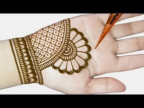 Easy Beautiful Mehndi | Mehndi Design Easy And Beautiful | Arabic Mehndi 2020