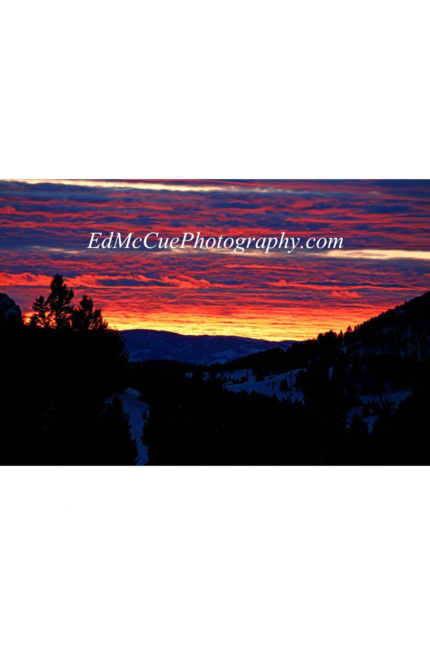 Bozeman Pass Montana Have you ever marveled at the beautiful red, pinks and orange colors of a sunr