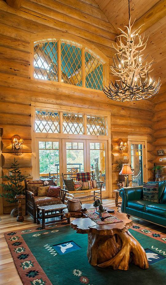 Log Homes Done Right Log Home Interiors Log Home Living Rustic