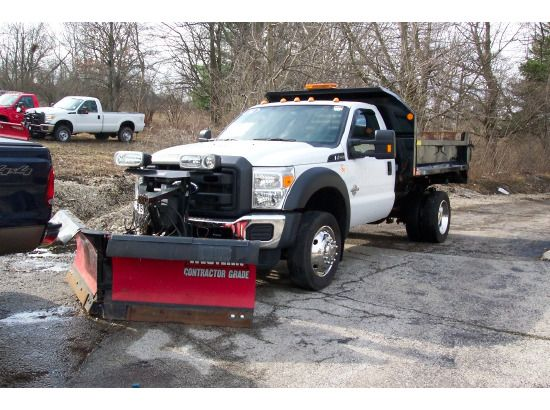 Ford Plow Trucks Spreader Trucks For Sale Used Trucks On