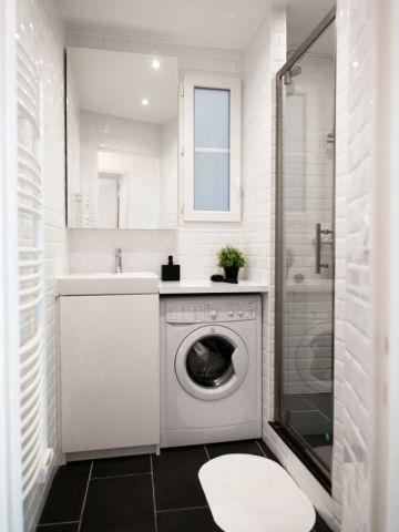 Petits espaces  10 mini salles de bains parfaitement optimisées