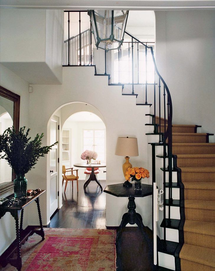 InteriorBest Modern Colonial Interior Design For Your House Hovering Entryway With Decor