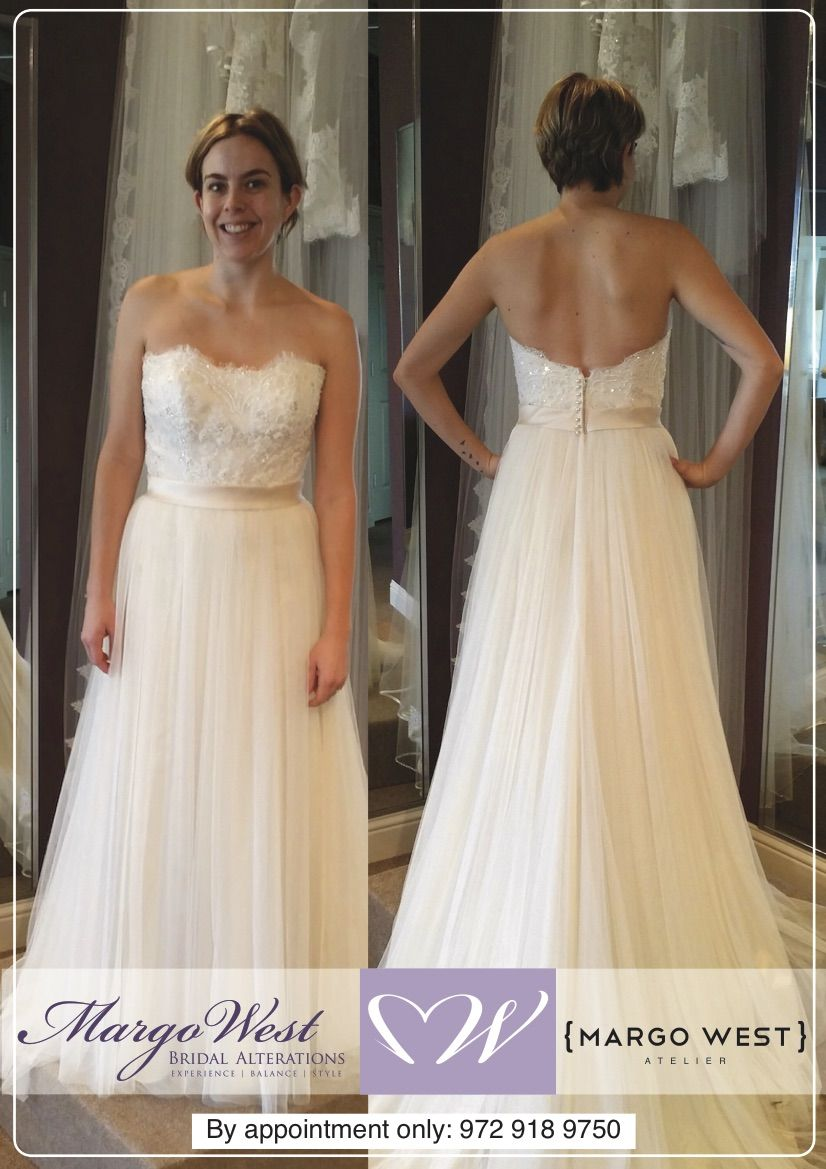 Best wedding dress alterations in Texas by Margo West. | Margo West ...