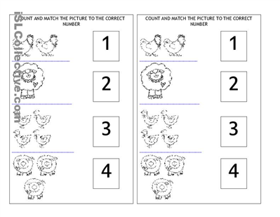 Farm Animals Worksheet Free Esl Printable Worksheets Made By