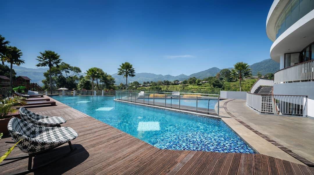 Hotel Villa Puncak Bogor Pesona Alam Vila Kota Bogor Tempat Liburan