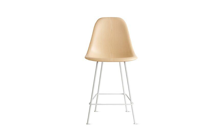 Astonishing Eames Molded Wood Counter Stool Dwhcx Mv Kitchen Wood Machost Co Dining Chair Design Ideas Machostcouk