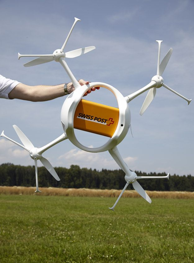 Photo of Delivery Drones Take Flight, And They Aren't From Amazon