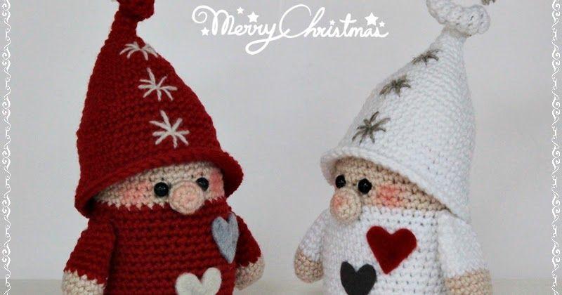Gnomos navideños | Crochet - Navidad | Pinterest | Ganchillo, Croché ...