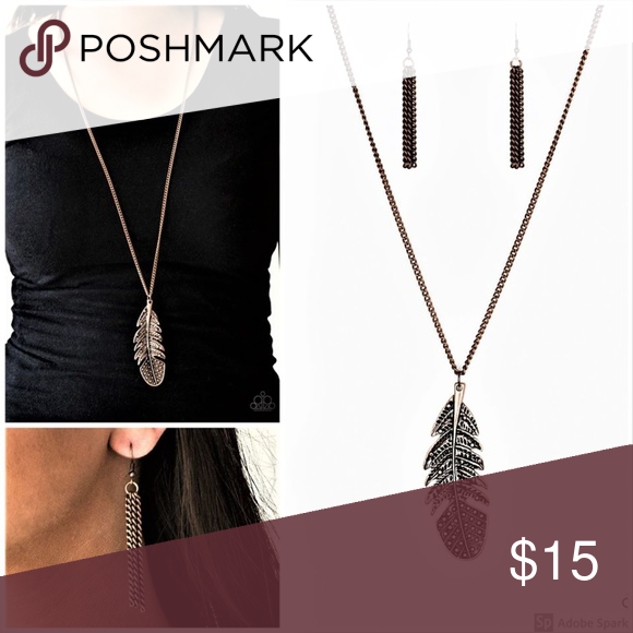 Birds of a Feather Necklace and Earring Set
