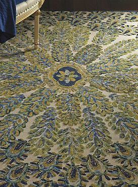 quick to become the focal point of any room, the peacock area rug