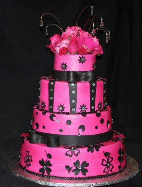Pink Wedding Cake Weddings Hochzeitstorte Pink Susses
