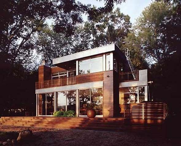 modern lake house decorating ideas wooden floors plan design architecture - Lake Home Design Ideas