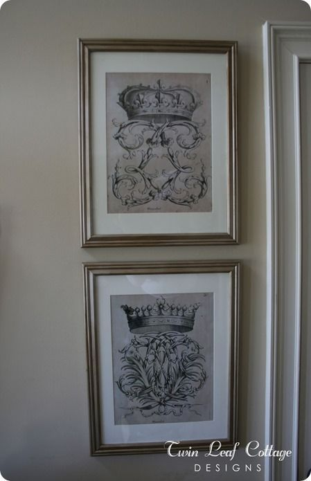 Print Your Own Vintage Wall Art - KnockOffDecor.com #restorationhardware